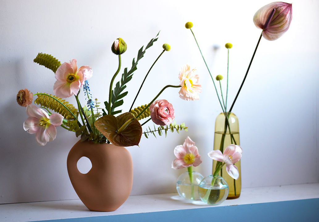 Floral arrangement for Party by Numbers (Pinch Food and The Gathery)