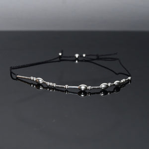 'One Day at a Time' Morse Code Mantra Bracelet
