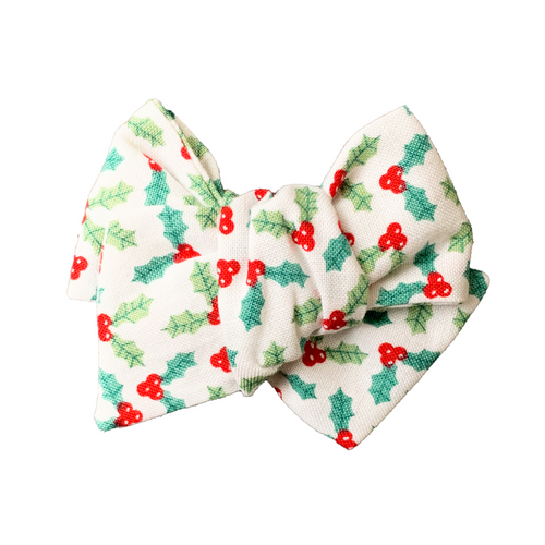 Holly Jolly Hair Bow