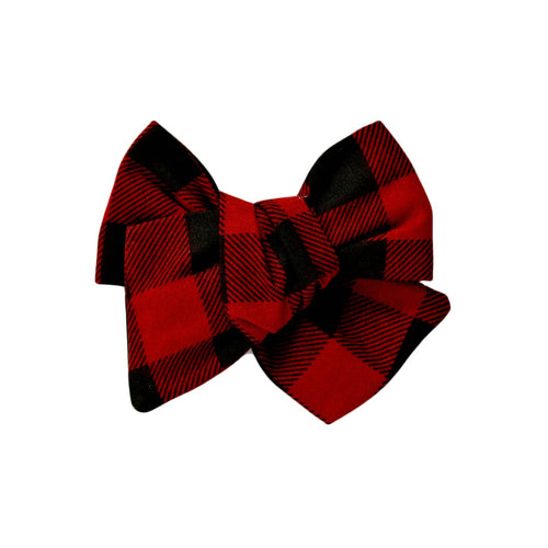 Lumberjack Plaid Hair Bow