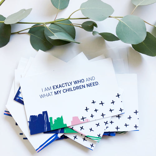 Motherhood & Kids Affirmation Cards - Set of 2