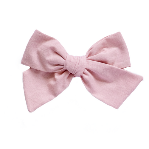 Princess Pink Hair Bow