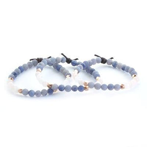 Shine Mini Bracelet - Blue Aventurine