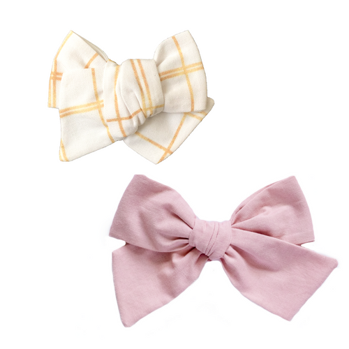 Sugar Plum Fairies Hair Bow Set