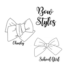 Load image into Gallery viewer, Snow Flurries Hair Bow Set