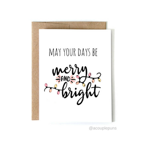 Set of 6 Holiday Cards