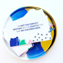 Load image into Gallery viewer, Motherhood & Kids Affirmation Cards - Set of 2