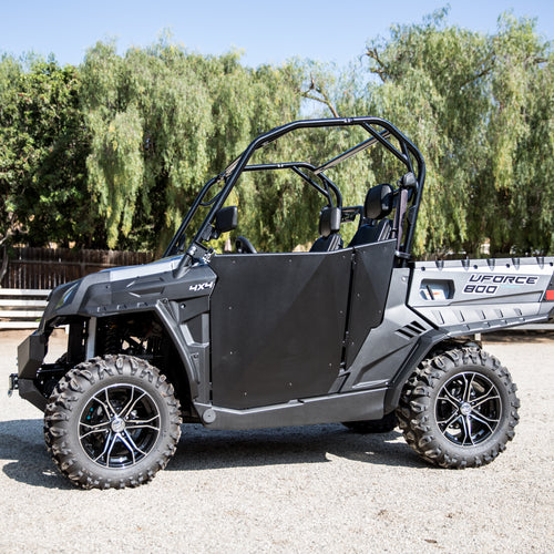Black Suicide Half Doors By Dirt Specialties - CF Moto UForce 500 | 800