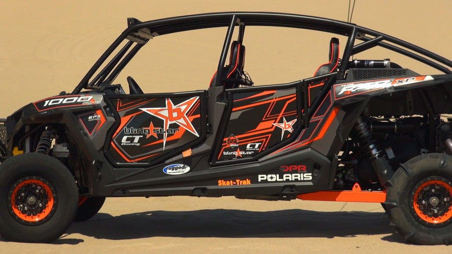 Blingstar Black Suicide Doors - 2014-20 Polaris RZR XP 4 1000