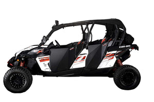 CAN-AM MAVERICK MAX  COMMANDER MAX SUICIDE FULL DOORS