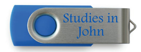 Studies in John Sermon Series FlashDrive
