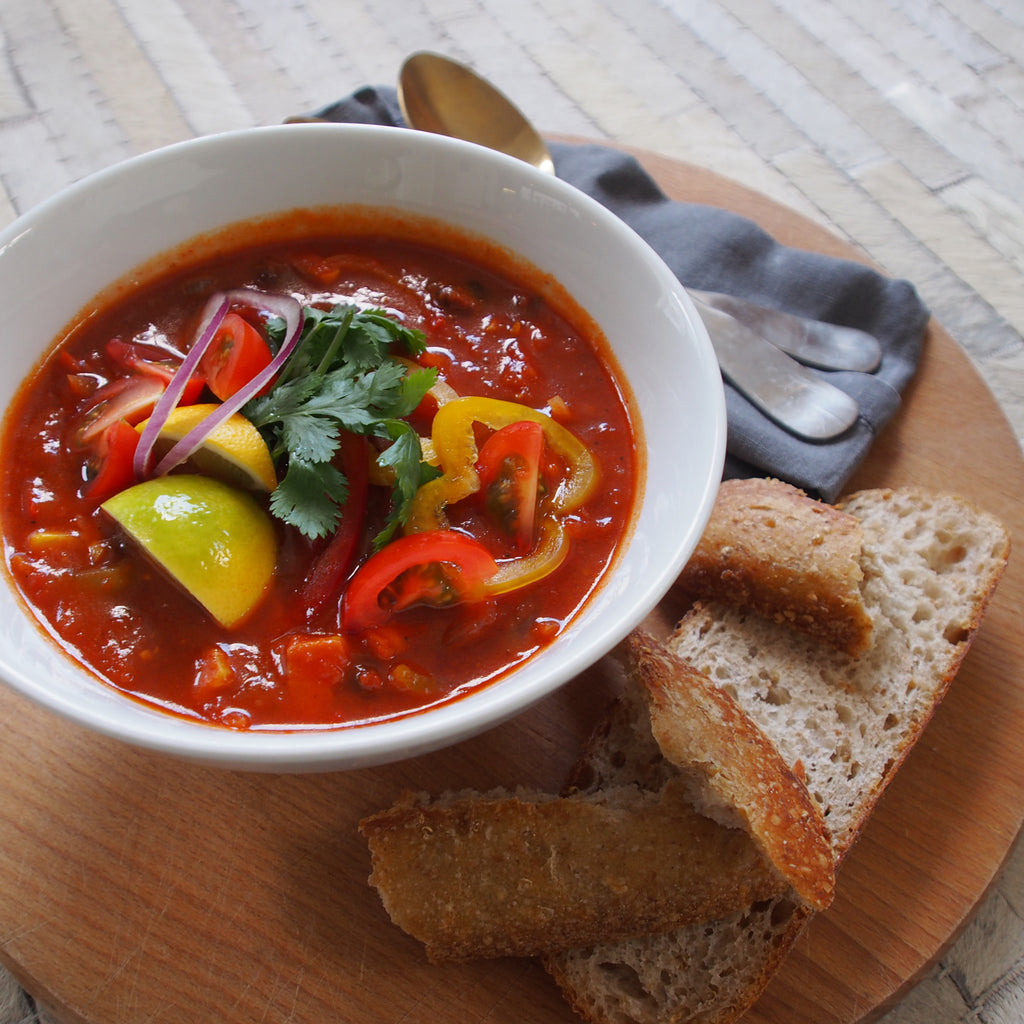 SPICY TACO SOUP - VEGAN 1 ltr