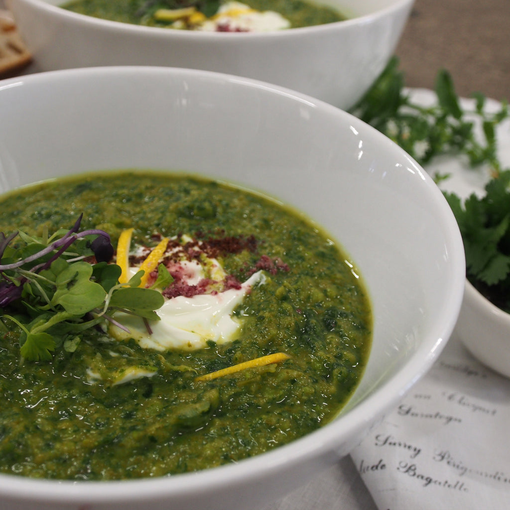 GREEN GOODNESS SOUP - VEGAN -1 ltr