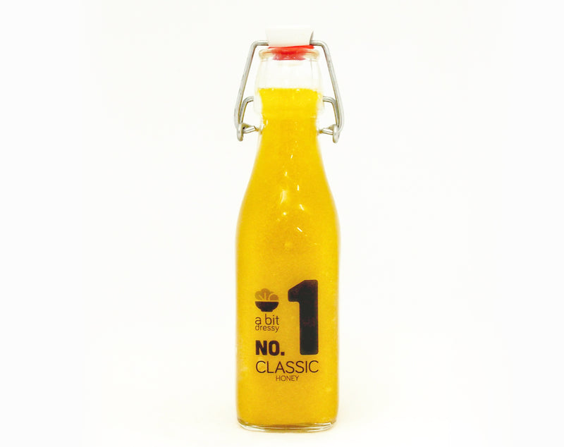 No1 Classic honey Salad Dressing. Freshly made in Auckland. Preservative free.
