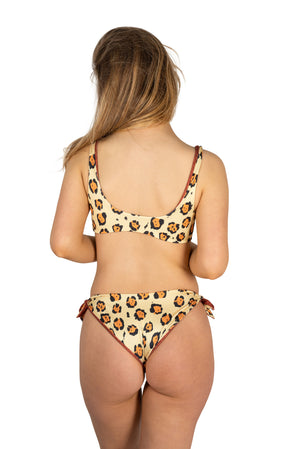 animal print leopard bikini sexy cheeky jaguar