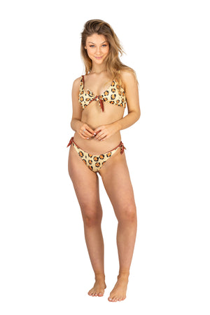 animal print leopard bikini sexy cheeky jaguar reversible two sided