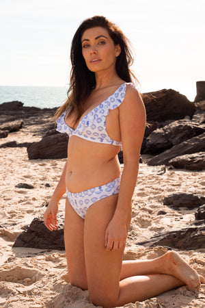 Shells and Frills Bikini Set