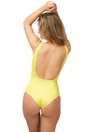 Sweet Daisy Reversible One Piece Swimsuit