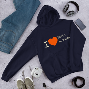I Love Insta Normies - Hooded Sweatshirt