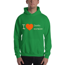 Load image into Gallery viewer, I Love Insta Normies - Hooded Sweatshirt