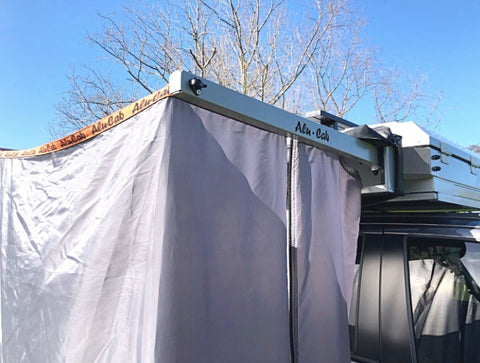 Alu-Cab Shower Cube Mounting Kit for the Canopy Camper