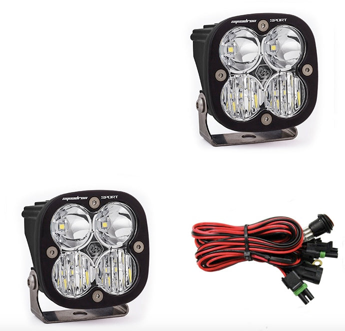Baja Designs - Squadron Sport, Pair Driving/ Combo LED