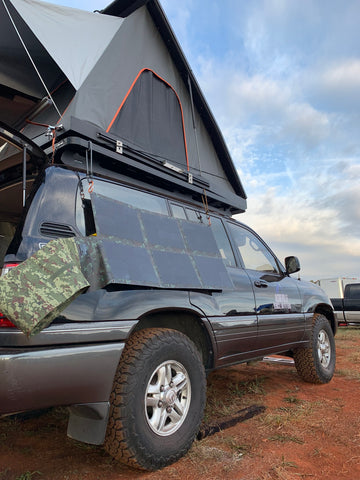 Off Grid Trek 120W Solar Blanket Bug Out Kit
