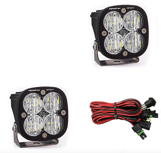 Baja Designs - Squadron Sport, Pair Wide Cornering LED