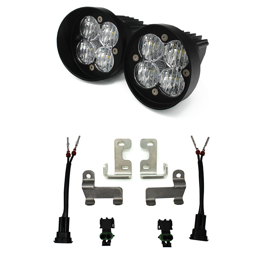 Baja Designs - Toyota, Tacoma/Tundra/4Runner, Squadron SAE Fog Light Kit