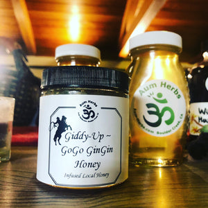 Giddy up and GoGo GinGin & other Specialty Honey $12 - $19