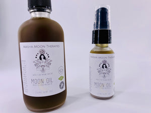 Moon Oil Breast and Womb Massage Oil