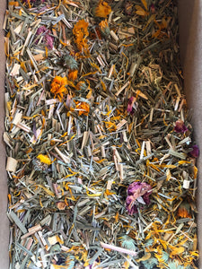 Herbal bath - eco friendly packing materials.  bath bag included