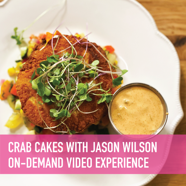 Pacific Northwest Crab Cakes with Jason Wilson On-Demand Experience