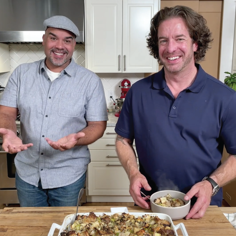 Chanterelle & Apple Stuffing with The Lakehouse's Jason Wilson: Traditions Recipe + On-Demand Video