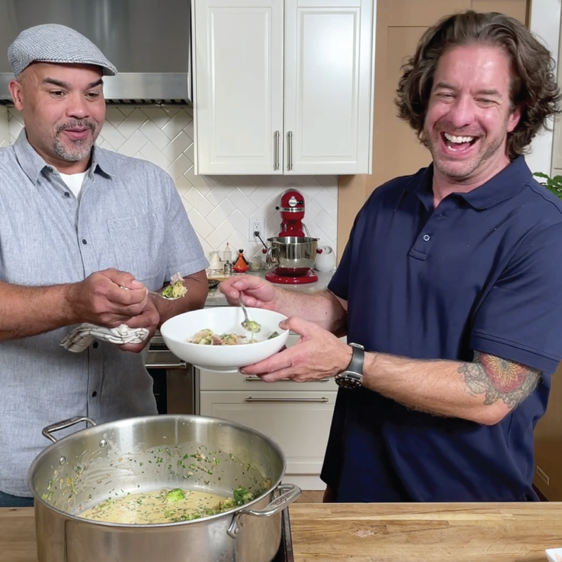 One Pot Creamy Brussel Sprouts with The Lakehouse's Jason Wilson: Traditions Recipe + On-Demand Video