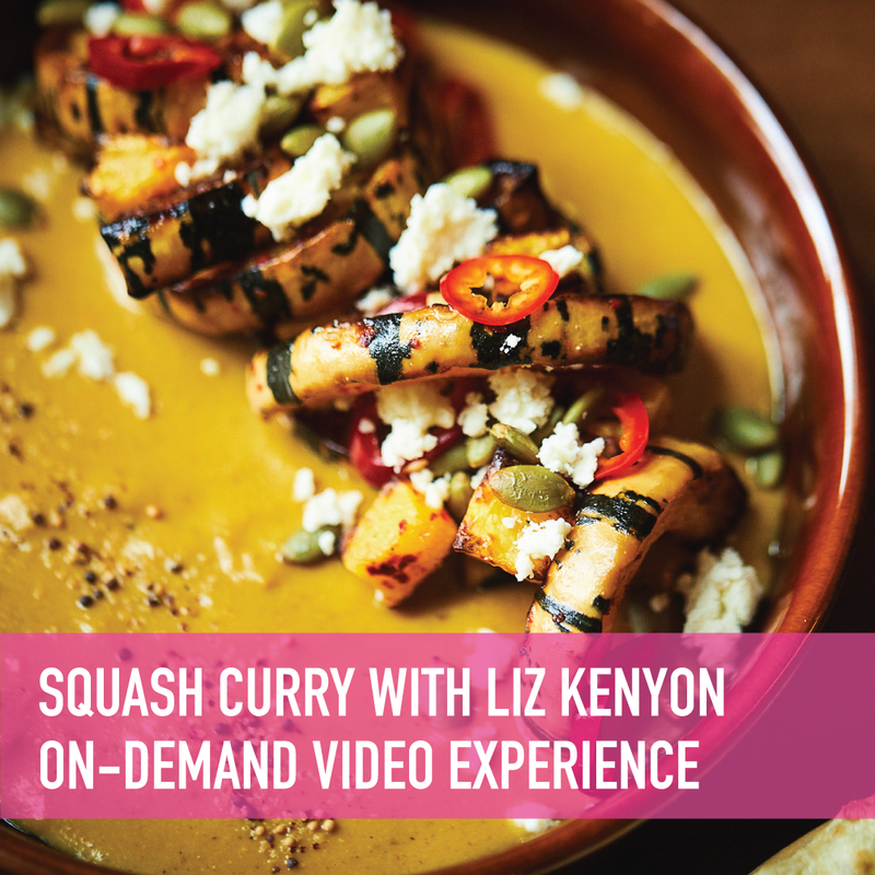 Autumn Squash Curry with Rupee Bar's Liz Kenyon On-Demand Experience