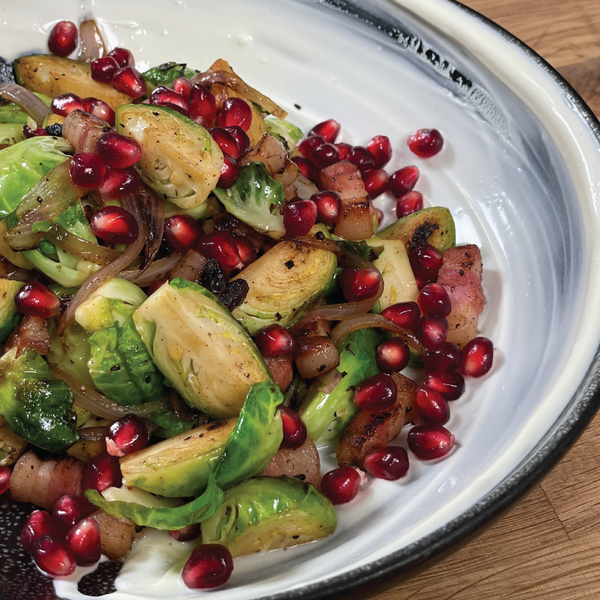 Pan Roasted Brussel Sprouts with Matt's In The Market Matt Fortner: Traditions Recipe + On-Demand Video