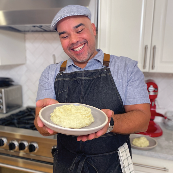 Garlic Mashed Potatoes with Where Ya At Matt's Matt Lewis: Traditions Recipe + On-Demand Video