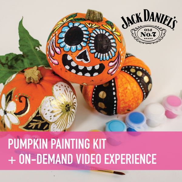 Pumpkin Painting with Gabrielle Abbott Presented by Jack Daniel's On-Demand