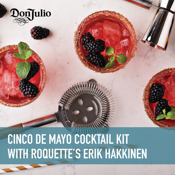 Cinco de Mayo Cocktail Celebration with Erik Hakkinen + Livestream [05/05/2021]