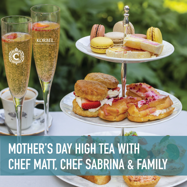 Mother's Day High Tea & Cocktails + Cook Along Livestream [5/8/2021]