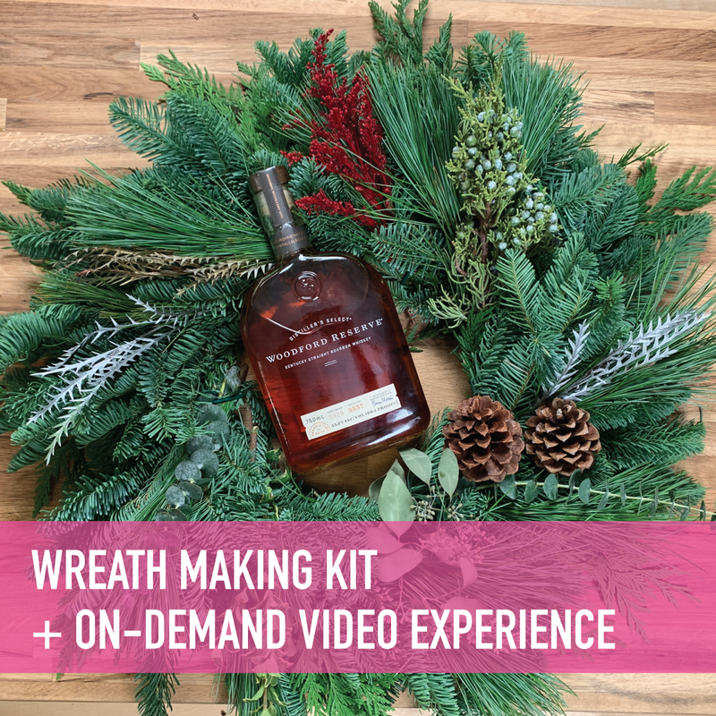 Wreath Making Presented by Woodford Reserve - Kit + On-Demand Video