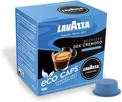 Lavazza Lavazza A Modo Mio Dek Cremoso Eco Cap Compostable Capsule Box of 16