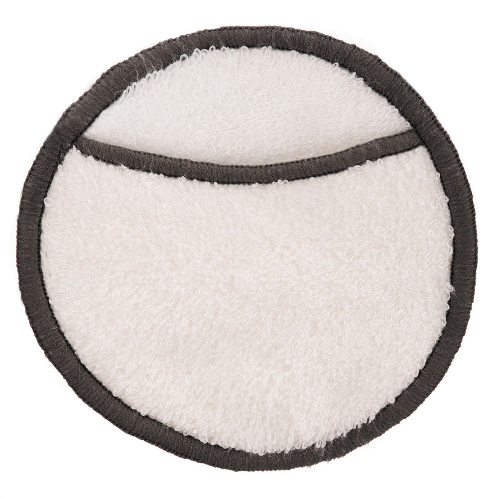 Bamboo Cotton Reusable Make up Remover Pad - 10cm 4 Layer With Finger Pocket