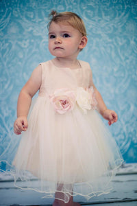 Style No. 135B - Silk Baby Dress