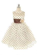 Load image into Gallery viewer, Style No. 234 Organza Polkadot Dress