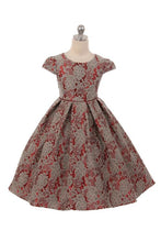 Load image into Gallery viewer, Style No. 378 Chantilly Jacquard Dress