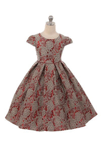 Style No. 378 Chantilly Jacquard Dress