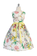 Load image into Gallery viewer, Style No. 480 Botanical Flower Cotton Dress
