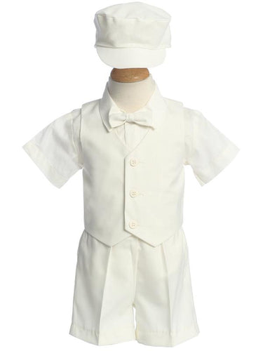 Style No. G770 - Matching Vest and Shorts Set with Hat